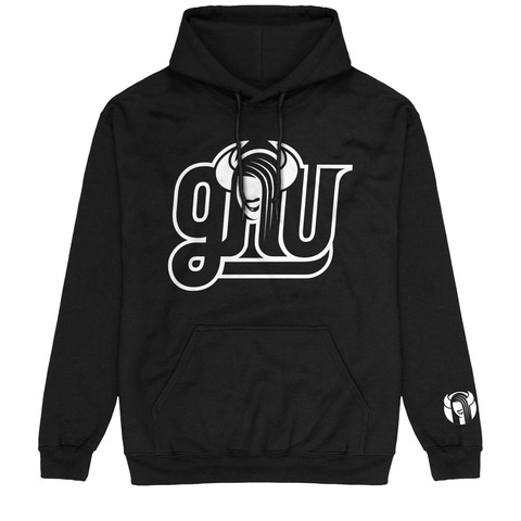 √Outline Logo von GNU - Hood sweater jetzt im Gnu Shop Shop