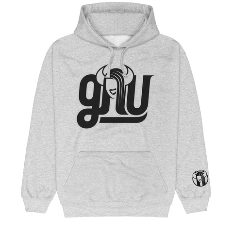 √Black Logo von GNU - Hood sweater jetzt im Gnu Shop Shop