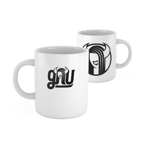 √Logo Mug von GNU - mug jetzt im Gnu Shop Shop