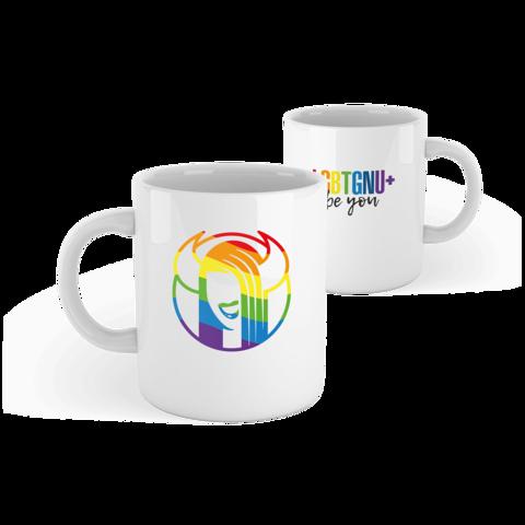 √LGBTGNU+ von GNU - mug jetzt im Gnu Shop Shop